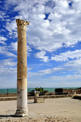 Column in Carthage
