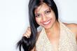 hübsche indische Frau