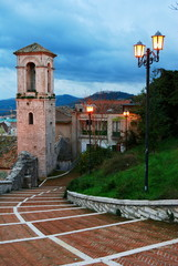 Old starway and staple in Campobasso