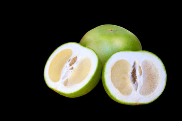 "Juicy green kind of grapefruit called ""Sweety"""