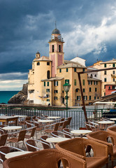 Italian Riviera - Camogli church