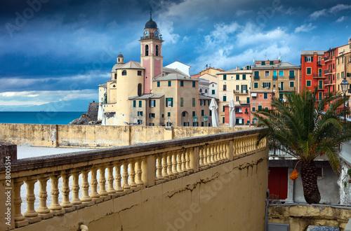 Italian Riviera - Camogli promenade