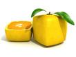 Lemon Cube and a half