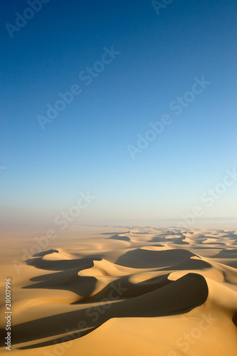 Fotobehang Woestijn Sahara desert