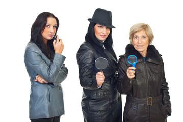 Detectives women
