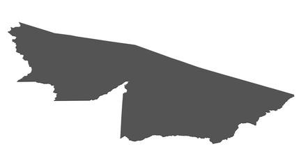 Karte von Acre - Brasilien