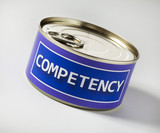 competency in a can poster