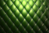 Green genuine leather pattern background poster