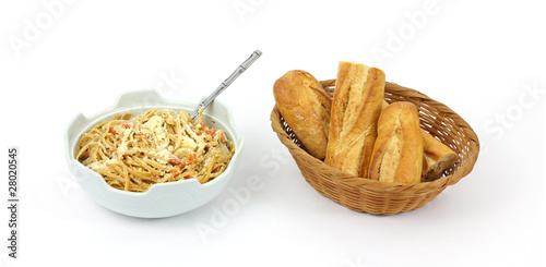 Bread and Whole Grain Pasta