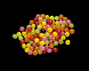 Multicolored Sweets in Bulk
