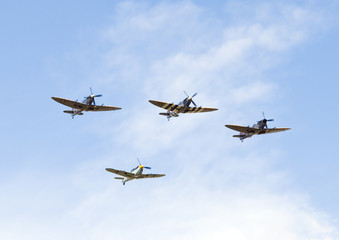 Spitfires and Buchon