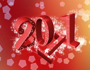 año nuevo 2011 rojo
