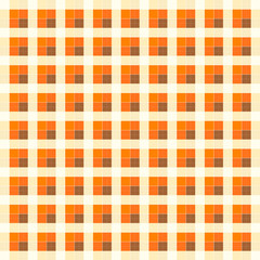 orange plaid background