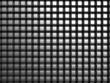 Shiny aluminum square pattern background