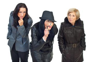 Three detectives women