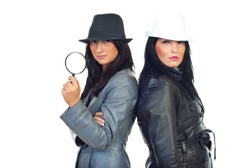 Two beauty detectives women