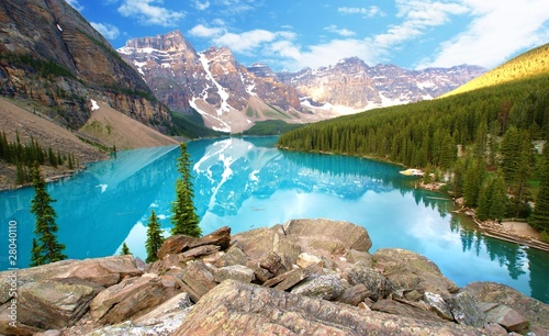 Foto op Canvas Canada moraine lake