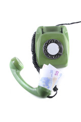 Telefon und Geld