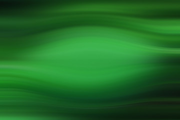 green abstract background with curved lines