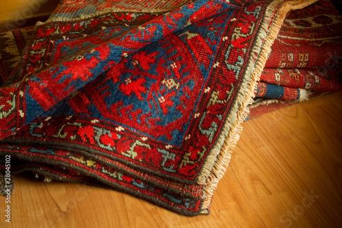 Leinwandbild Motiv ancient oriental carpets- tappeti orientali antichi
