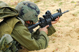 M16 Israel Army Rifle Soldier