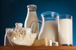 Photo of milk products.