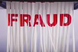 Shred fraud. poster