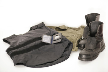 Ausrüstung der Polizei