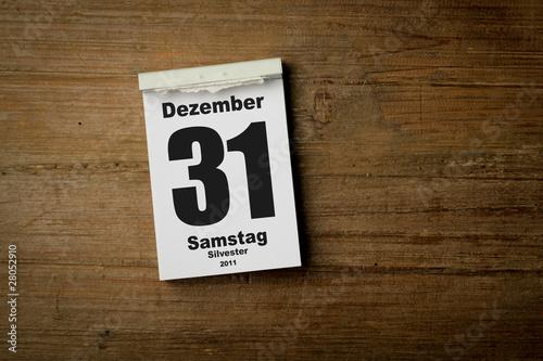 31 Dezember 2011