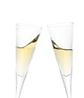 .Celebration toast with champagne