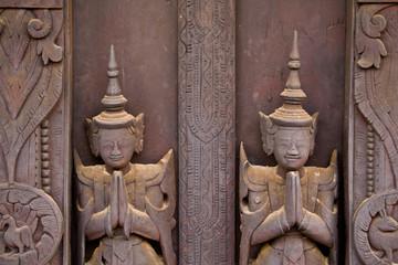 Bas relief - Mandalay - Birmanie