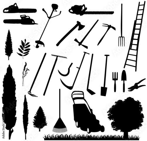 matériel jardinage - 28057317