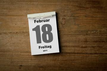 18 Februar