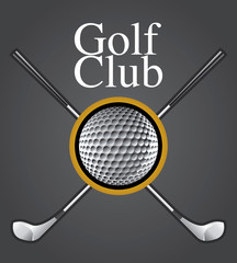 Golf Club Design Element