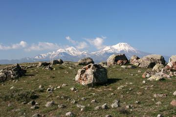 Der Vulkan Hasan Dagi im Frühjahr - Türkei