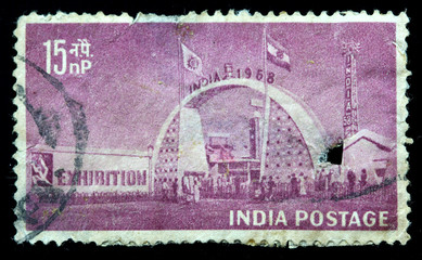 Exhibition Gate, New Delhi, Circa