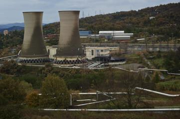 Centrale Geotermica di Larderello, Pomarance (pisa)