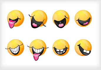 Smile. Set smiles