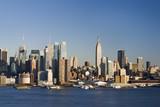 Daytime NY Skyline poster