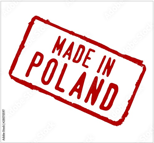 Poland rubber stamp