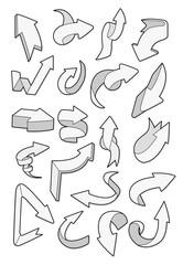 cartoon arrow