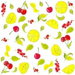 Background. Fruits.