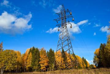 Reliance power line.