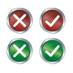 Buttons Ja / Nein