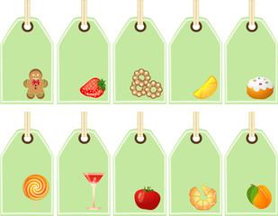 Etichette Cibo - Food Tags