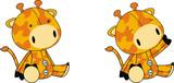 giraffe plush cartoon poster