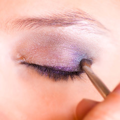fard à paupières - maquillage