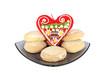 Honey cake and Licitar cookie