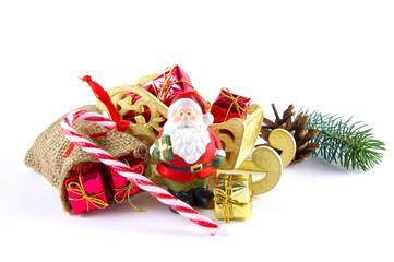 Schlitten mit Geschenken