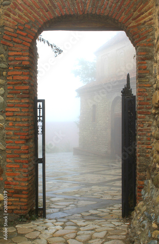 Entrance to foggy town © Gelia